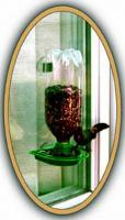 Gadjit Window Bird Feeder, Green