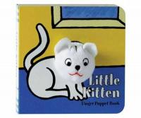 Chronicle Books Little Kitten Finger Puppet Book