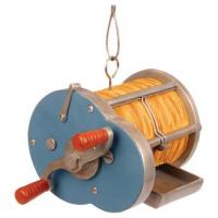 Outside-Inside Cast Reel Bird Feeder