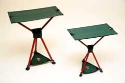 Byer of Maine Tri Lite Stool XL Red with Green Seat