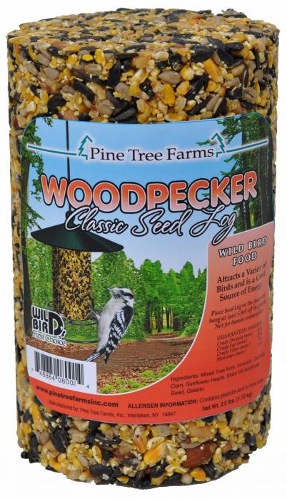 Pine Tree Farms Woodpecker Seed Log 80 oz.