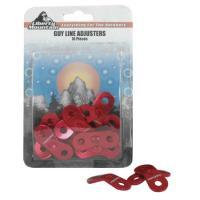 Liberty Mountain Aluminum Guyline Adjusters, 10 Pack