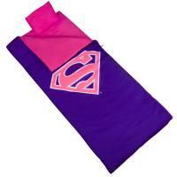 Olive Kids Superman Pink Shield Sleeping Bag