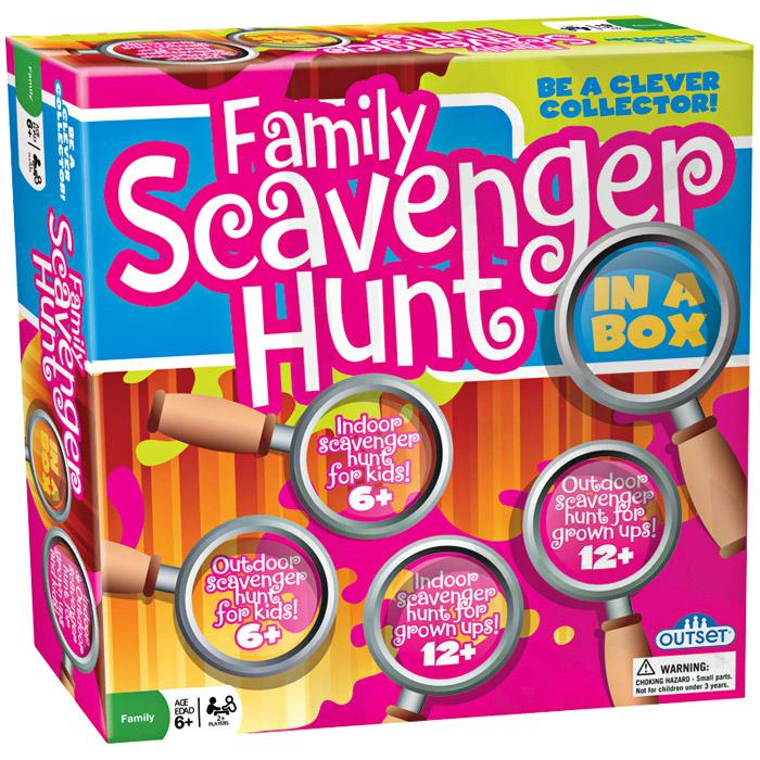 Outset Media Games Family Scavenger Hunt