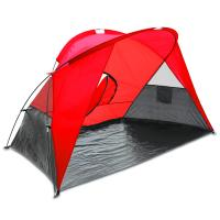 Picnic Time Cove Sun Shelter, Red