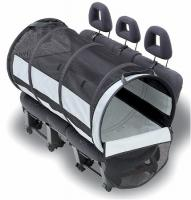 Petego Large Pet Tube Car Kennel