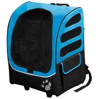 "Pet Gear I-GO Plus Traveler Carrier / Car Seat / Backpack Ocean Blue 13.5"" x 17"" x 21"""