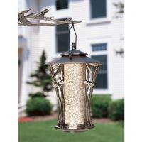 "Whitehall 12"" Dragonfly Silhouette Feeder - Copper Verdi"