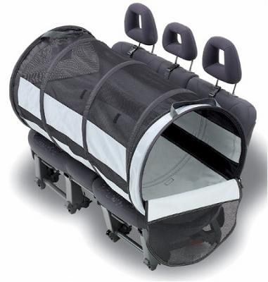 Petego Large Pet Tube Car Kennel