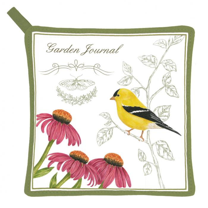 Alice's Cottage Goldfinch Potholder