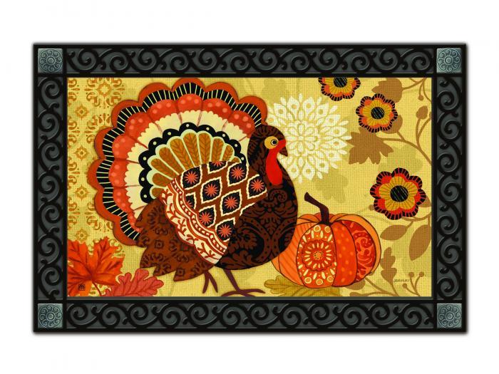 Magnet Works Turkey Time Mat Mate