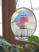 Songbird Essentials Mad Bluebird Suncatcher