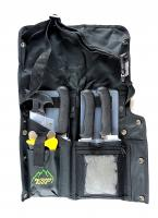 Outdoor Edge 8-Piece Field Butcher Kit with Belt Scabbard