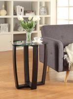 Convenience Concepts  Newport Chairside Table (Espresso)