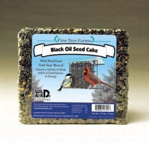 Pine Tree Farms 1.75 Pound Black Oil Sunflower Seed Cake