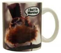 "Songbird Essentials Mug 11oz ""I Don't Do Mornings"""