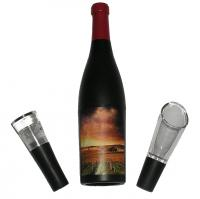 Earthly Way 3 Piece Wine Bottle-Shaped Corkscrew Gift Set