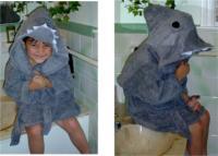 Shark Bath Robe