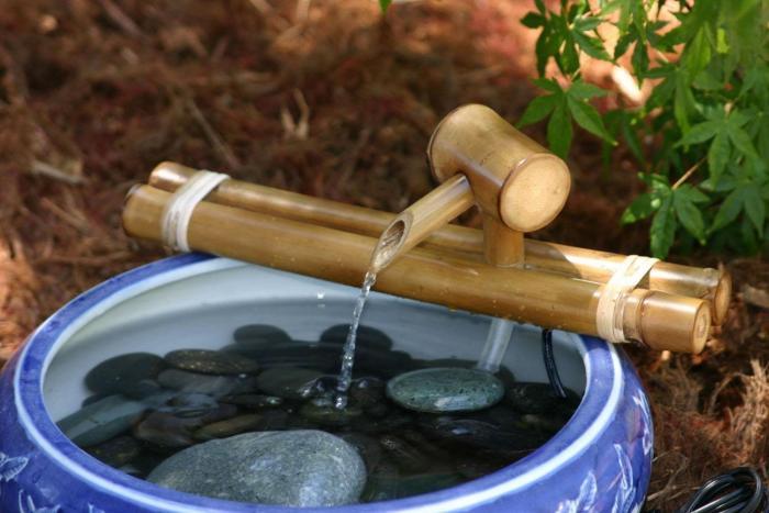 Как сделать фонтан настольный своими руками