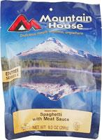 Mountain House Spaghetti with Meat Sauce - Serves 4