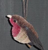 Brushart Robin Ornament