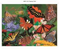 Impact Photographics Cleaning Cloth Butterflies