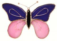 Gift Essentials Purple & Pink Butterfly Sun Catcher