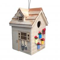 Home Bazaar Potting Shed Birdhouse - Natural