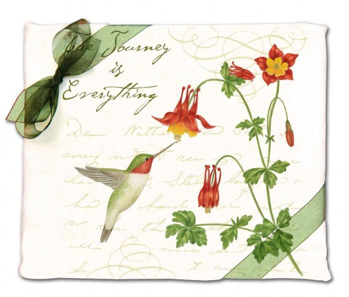 Alice's Cottage Hummingbird Flour Sack Towel (set of 2)