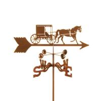 EZ Vane Horse & Buggy - Amish Weathervane
