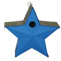 Songbird Essentials Country Star Birdhouse Blue