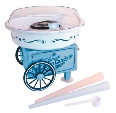 Nostalgia Electrics PCM305 Vintage Collection Hard & Sugar-Free Cotton Candy Maker