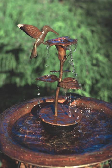 Ancient Graffiti Copper Dripper/Fountain Hbird