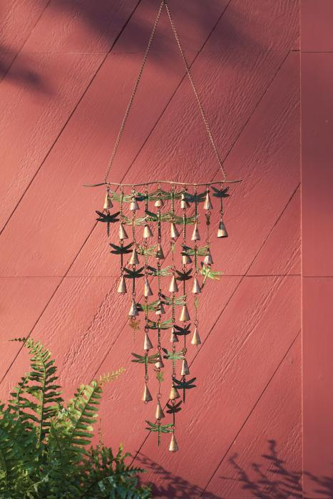 Ancient Graffiti Shimmering Bells Dragonflies