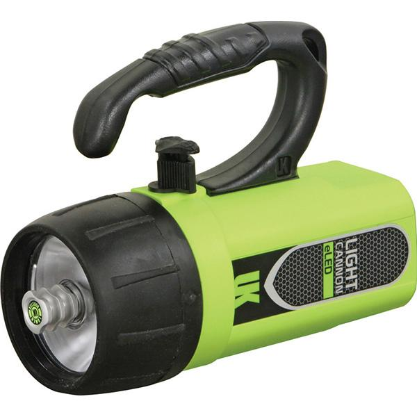 Underwater Kinetics Light Cannon eLED, Lantern Grip, Safety Yellow