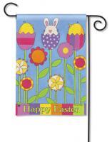Magnet Works Easter Garden, Garden Flag