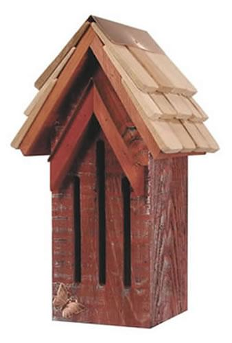 Heartwood Mademoiselle Butterfly House, Red