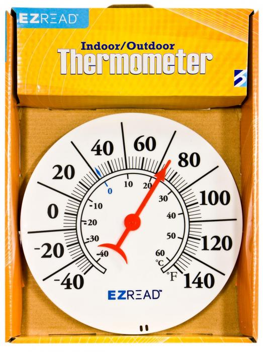 Headwind Dial Thermometer 8 inch