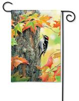 Magnet Works Woodpecker Garden Flag