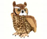 Wild Republic Great Horned Owl 12 inch