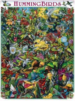 White Mountain Hummingbirds Puzzle