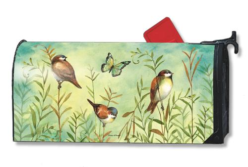 Magnet Works Sanctuary Sparrows MailWrap