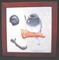 Songbird Essentials Nosey Junco, Trivet