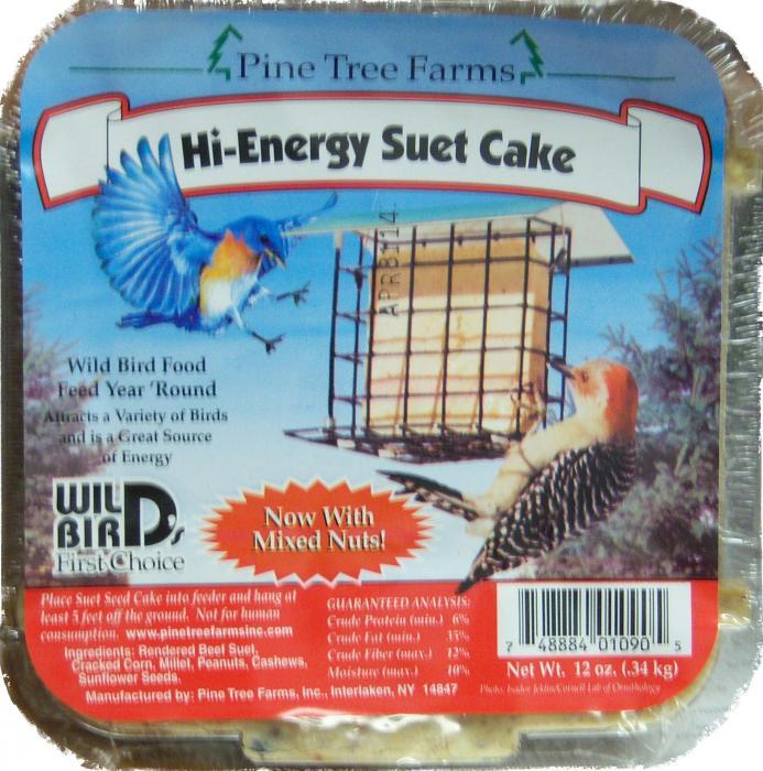 Pine Tree Farms 12 Ounce Suet Cake