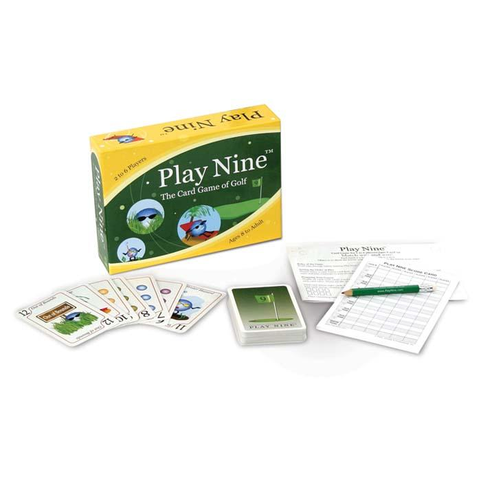 Play Nine: Card Game Of Golf