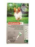 Advantage K9 Advantix Green Once-a-Month Topical Flea, Tick and Mosiquito Treatment
