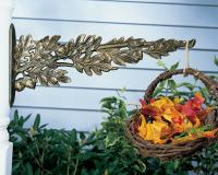 Oakleaf Nature Hook - French Bronze