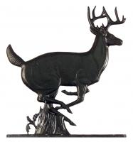 Large Bell with Buck - Black