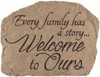 Carson Garden Stone Family Welcome