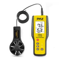 Pyle 2-in-1 Digital Anemometer & Thermometer - Air Velocity (Wind), Air Flow (Volume) and Temperature Meter (PMA90)